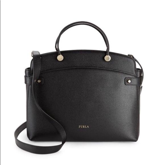 f304f6c16fdc Furla Handbags - Furla Agata Leather Tote Bag